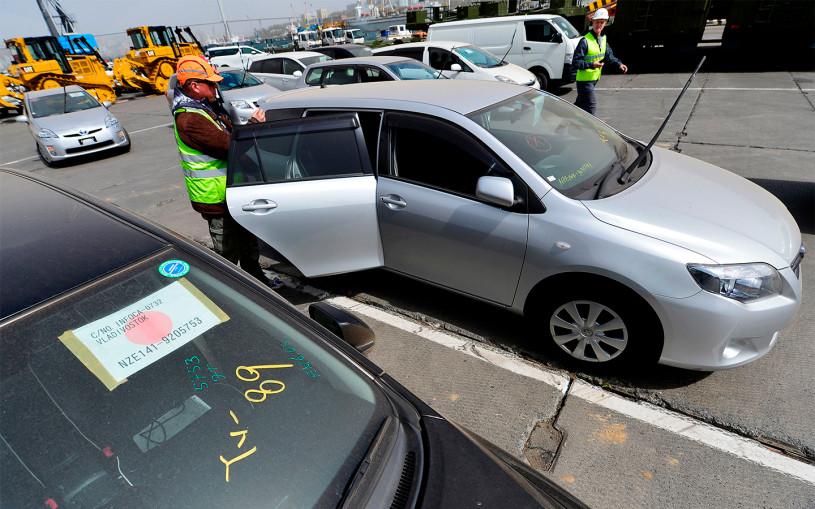 У машин из Японии большие проблемы из-за ЭПТС. На Дальнем Востоке коллапс