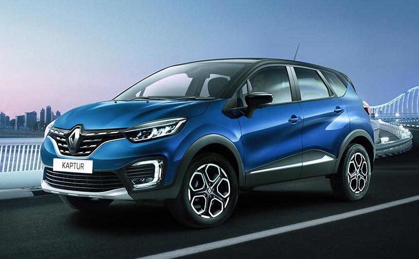 Renault показала обновленный Kaptur для России