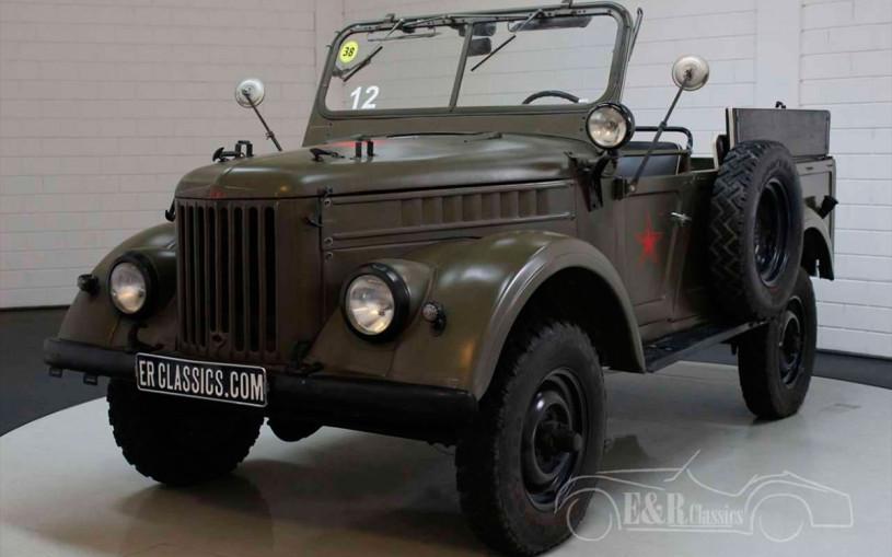 В Нидерландах выставили на продажу советский внедорожник за €13 тыс.