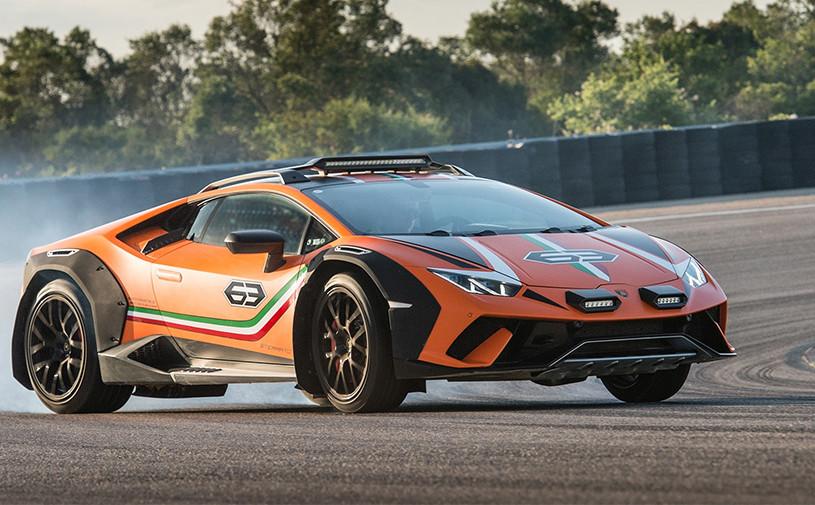 Вседорожный Lamborghini Huracan станет серийным