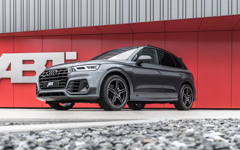 Audi привезет в Россию кроссовер Q5 со спортивным обвесом ABT