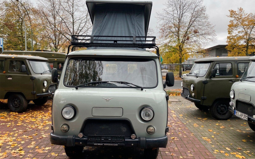 В Германии выставили на продажу модернизированную «Буханку» за €26 тысяч