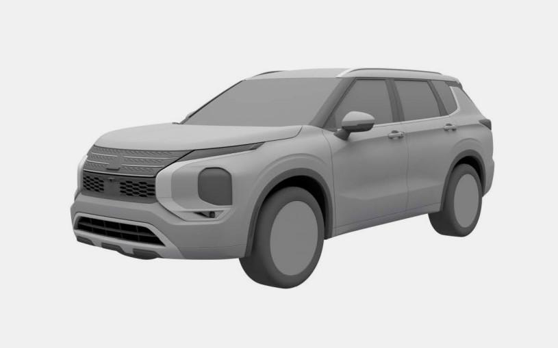 Mitsubishi запатентовала в России Outlander нового поколения