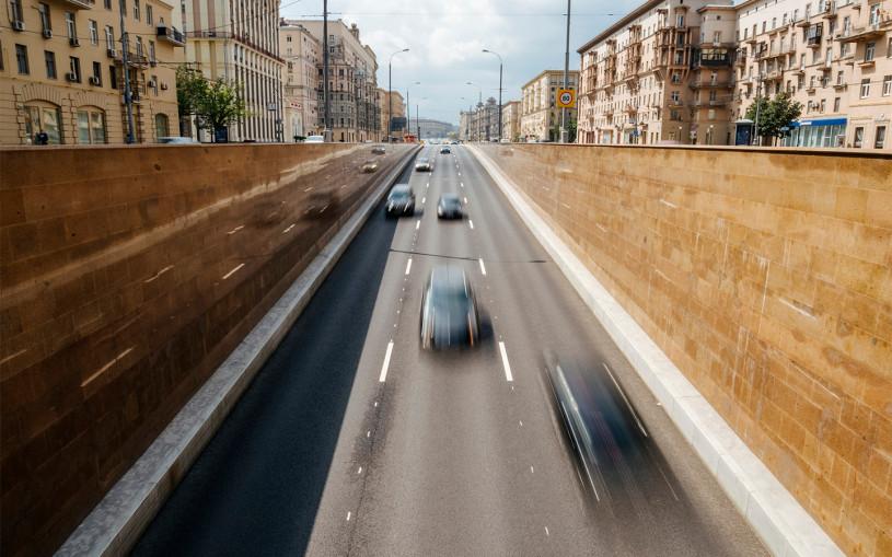 В московских тоннелях изменили разметку и разрешили перестраиваться