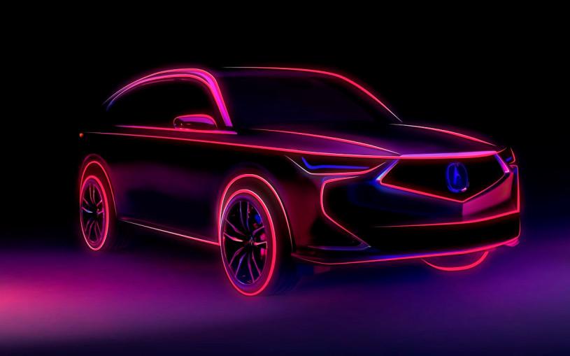 Acura анонсировала премьеру кроссовера MDX нового поколения