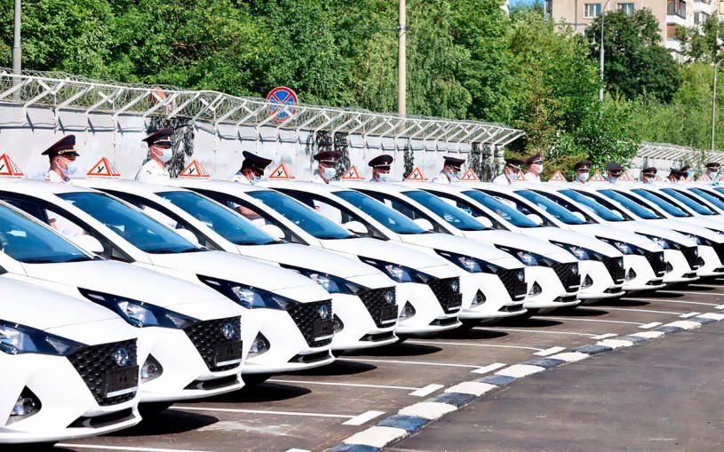 ГИБДД получила новые автомобили для проведения экзаменов на права