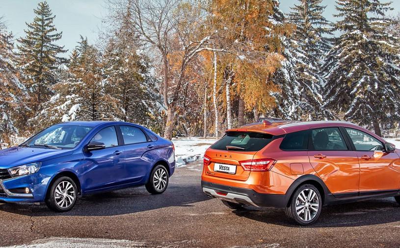 В России стартовали продажи Lada Vesta с новым мотором и вариатором