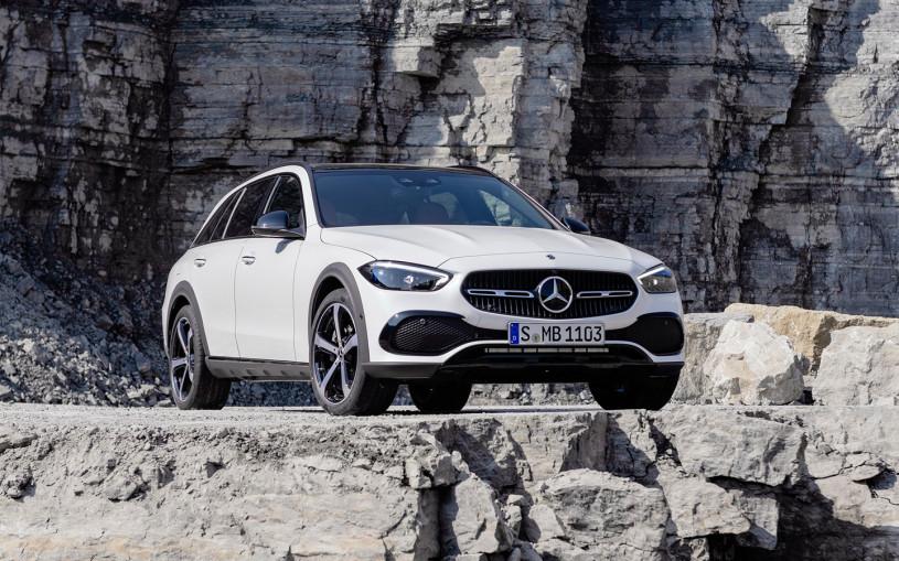 Новый Mercedes C-Class получил версию для бездорожья