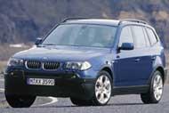 BMW обнародовала информацию о  X3