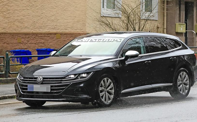 Дизайн обновленного Volkswagen Arteon рассекретили до премьеры