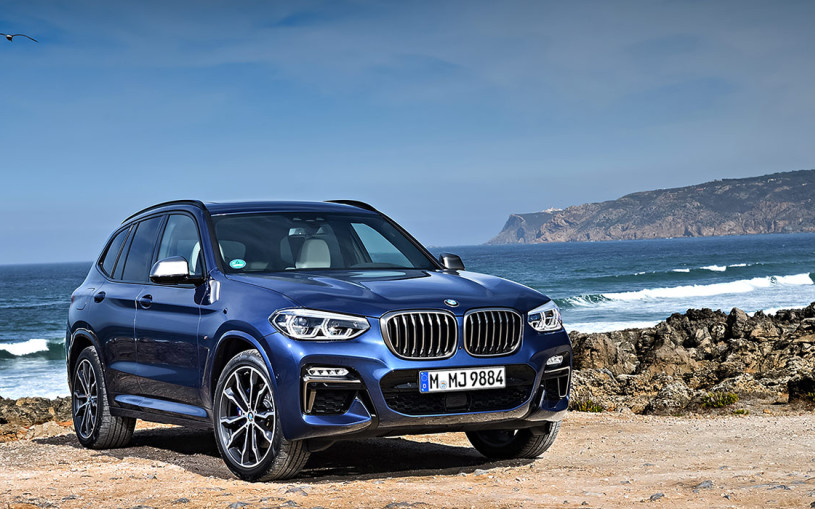 Видео: тест нового BMW X3, который оказался больше X5