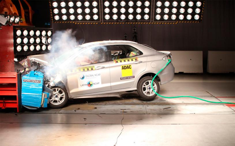 Ford Ka провалил латиноамериканский краш-тест. Видео