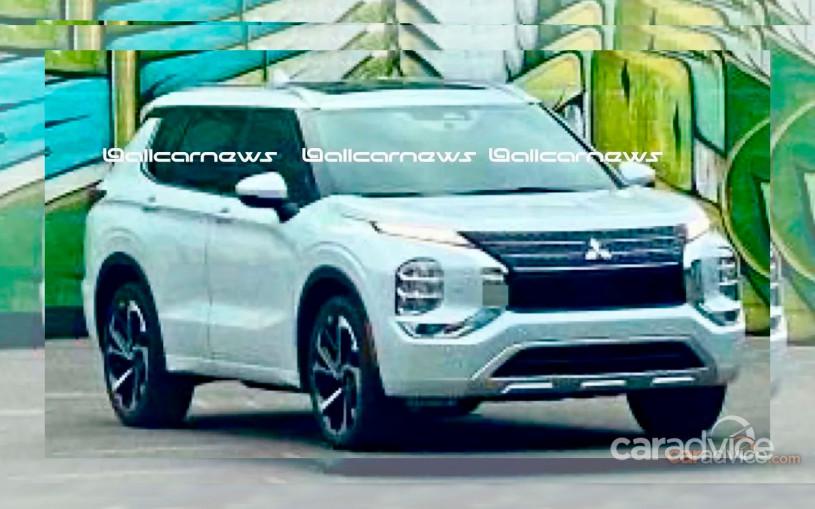 Дизайн нового Mitsubishi Outlander рассекретили до премьеры