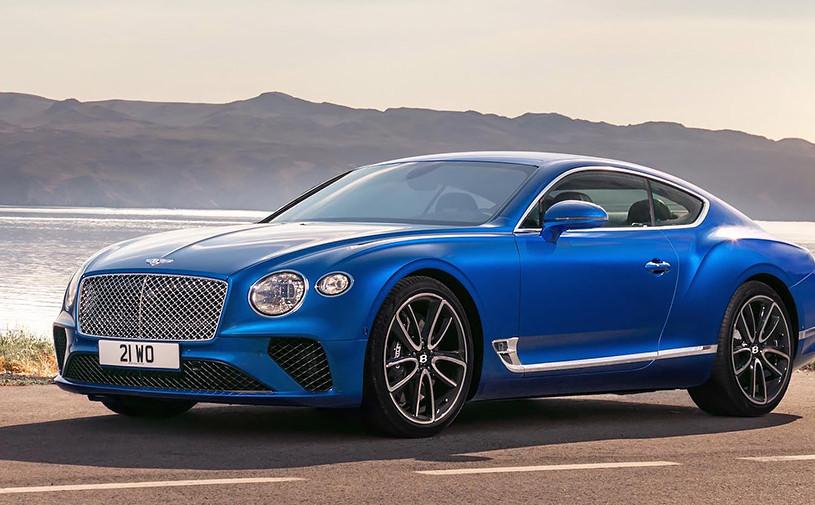Названы российские цены на новый Bentley Continental GT