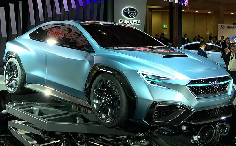 Subaru показала дизайн нового спортивного седана WRX