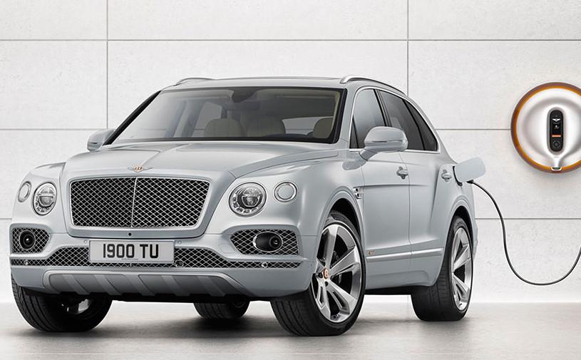 Bentley Bentayga стала гибридом