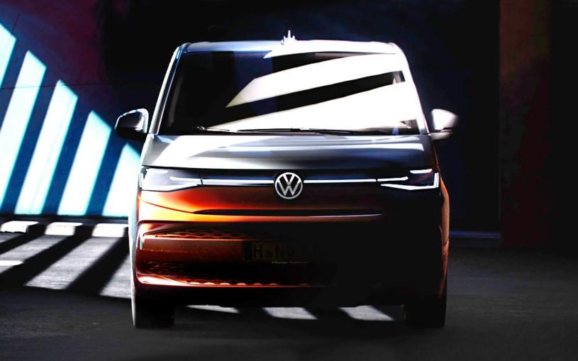 Volkswagen показал внешность и интерьер нового Multivan