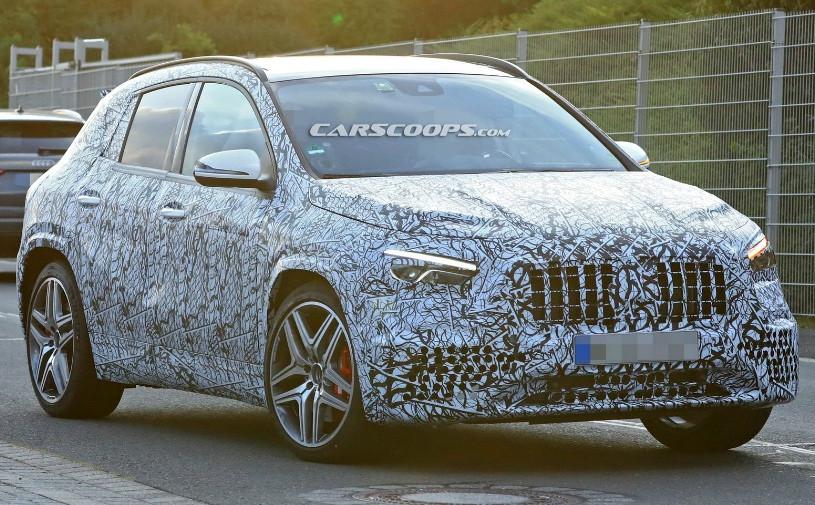 Mercedes назвал дату премьеры нового GLA