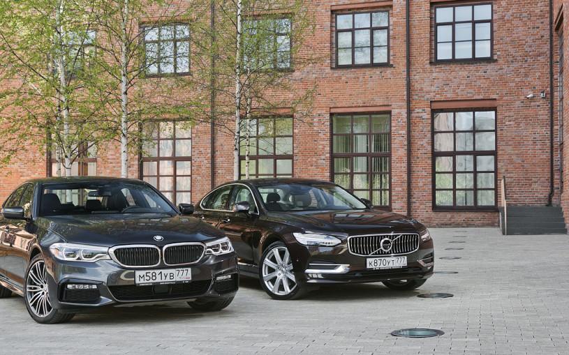 Правила бизнеса. Volvo S90 против BMW 5