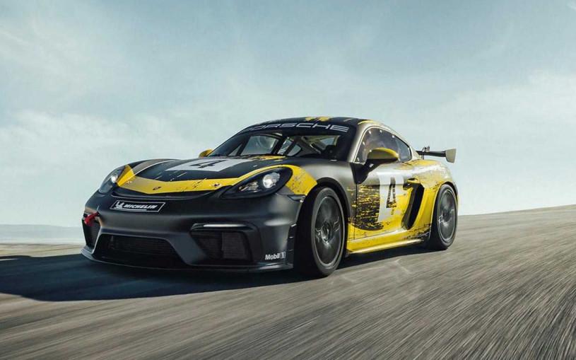 Porsche представил гоночный 718 Cayman