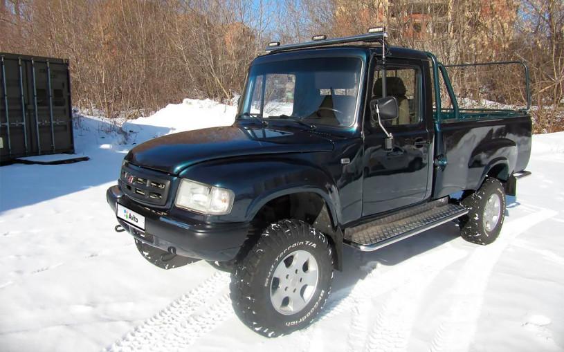 В России выставили на продажу уникальный пикап ГАЗ «Атаман»