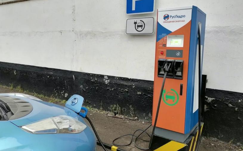 На Сахалине появилась бесплатная зарядка для электромобилей