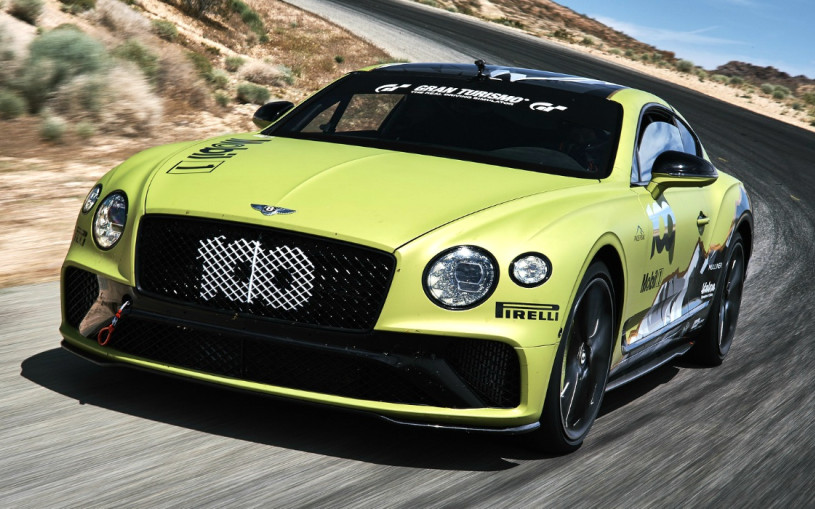 Bentley показал гоночный Continental GT для рекорда на горе Пайкс-Пик