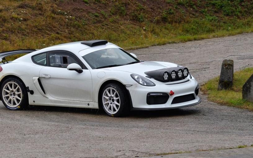 Самый быстрый Porsche Cayman превратили в ралли-кар