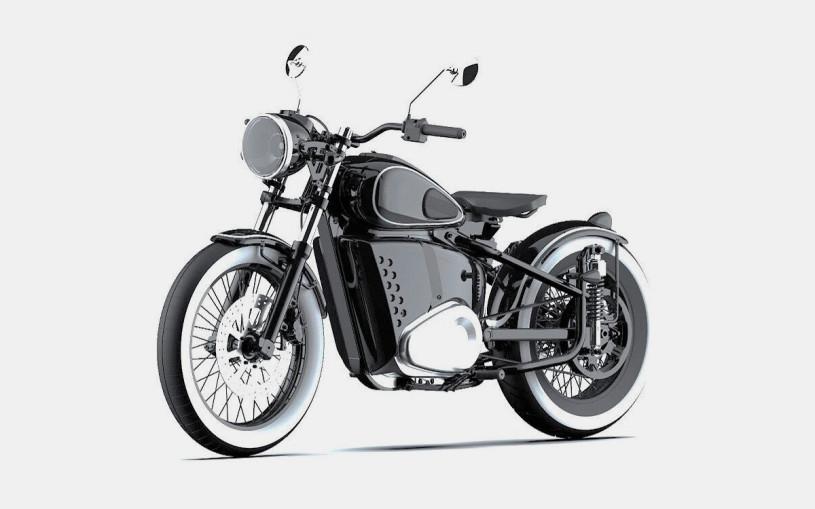 «Калашников» запатентовал электромотоцикл в стиле классического Иж