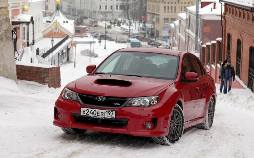 Гонка без правил: Subaru WRX против канатной дороги