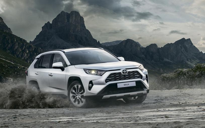 Toyota назвала цены на новый RAV4 для России