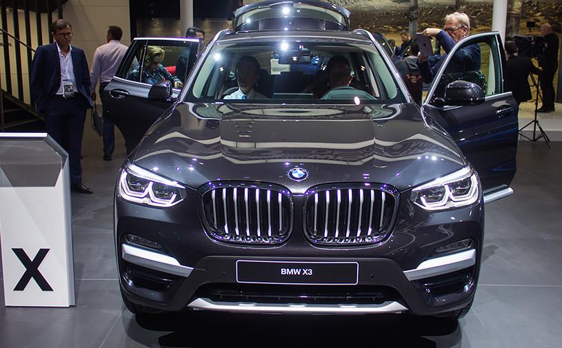 Во Франкфурте дебютировал новый BMW X3