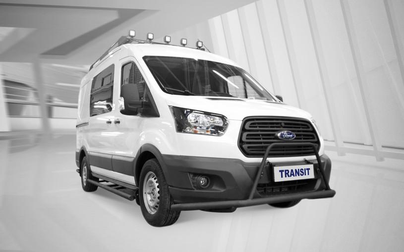Российский Ford Transit переделали для поездок на охоту и рыбалку