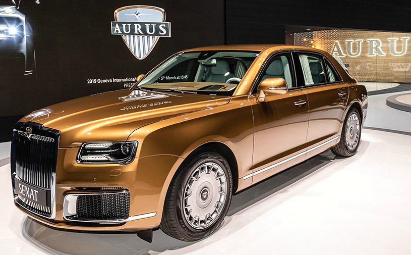Экспорт автомобилей Aurus в Европу начнется через два года