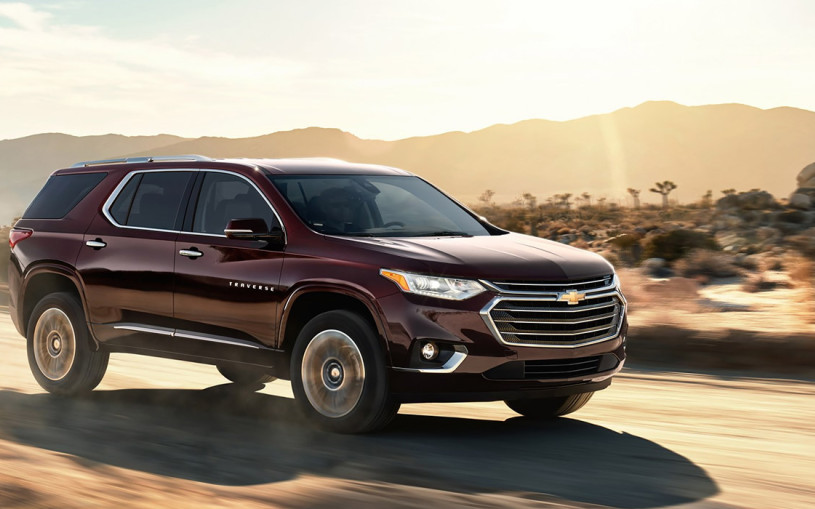 Chevrolet рассказал о новом внедорожнике Traverse для России