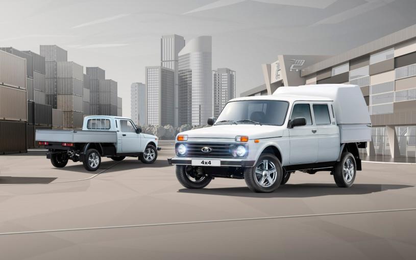 АвтоВАЗ назвал цены на обновленный фургон Lada 4x4