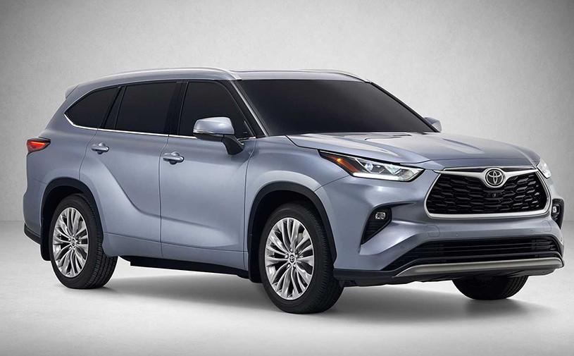 Toyota представила Highlander нового поколения