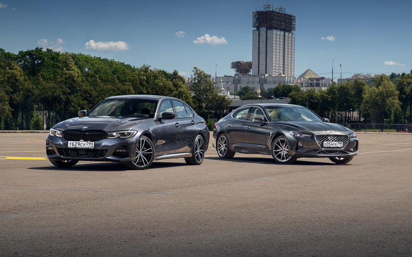 Что люди скажут? Тест-драйв Genesis G70 и BMW 3