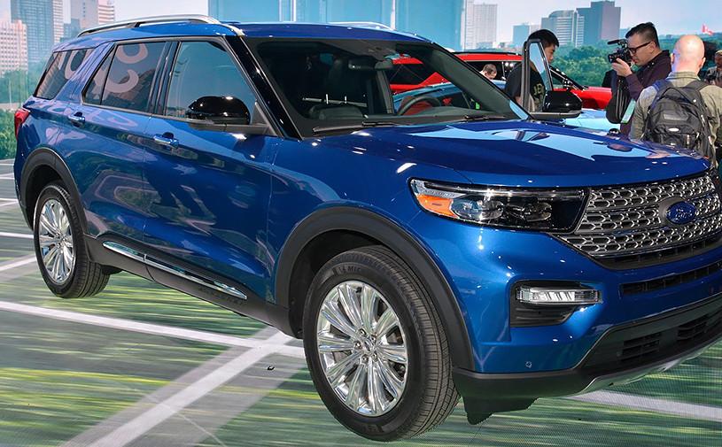 Новый Ford Explorer превратили в гибрид