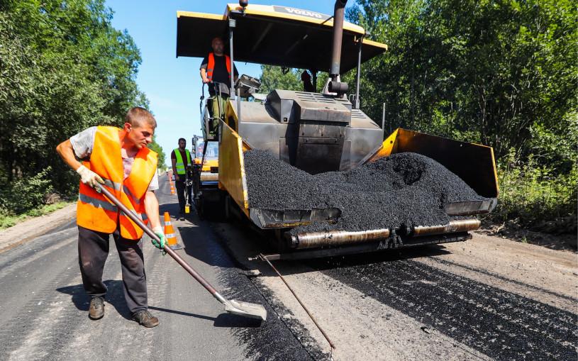 Перед участками с ремонтом дорог начали ставить камеры