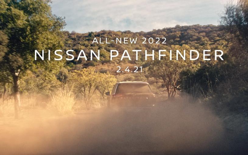 Nissan впервые показал новый Pathfinder на видео