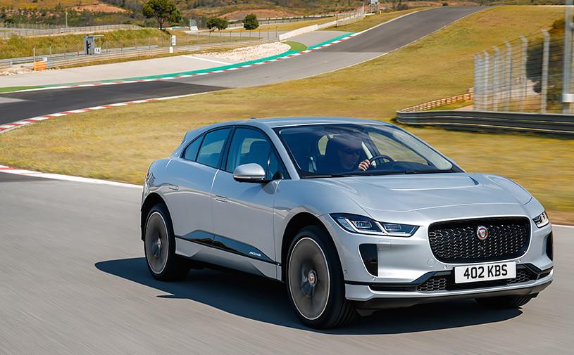 Jaguar увеличил запас хода электрического кроссовера I-Pace