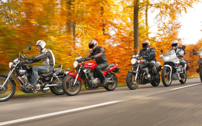 В Подмосковье камеры начнут штрафовать мотоциклистов