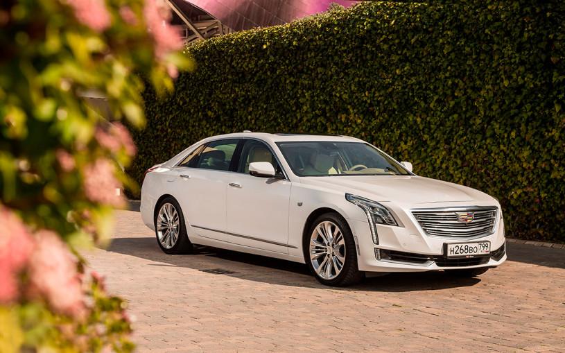 Cadillac остановил продажу в России своего единственного седана