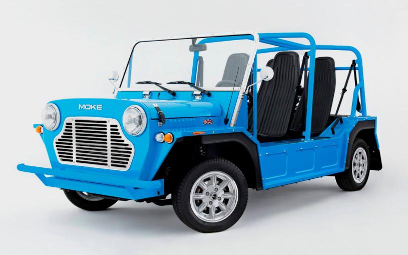 В Великобритании возродили и модернизировали внедорожник Mini Moke