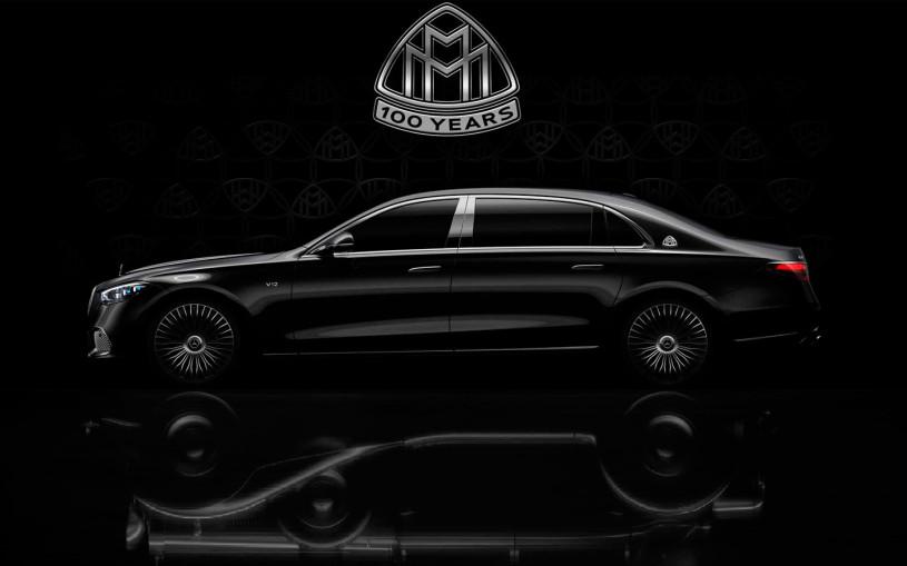 Mercedes выпустит в честь 100-летия Maybach роскошный седан с мотором V12