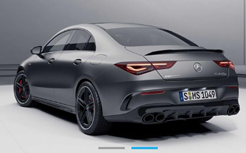 Появилась первая фотография самого мощного Mercedes-AMG CLA