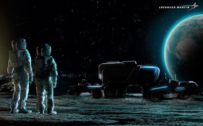 Компания General Motors показала беспилотный луноход на видео