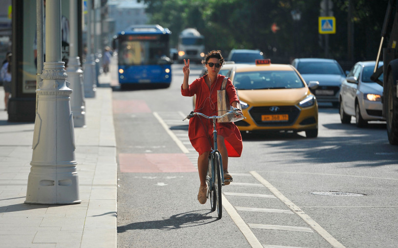 Берегись двух колес! Как велосипедисты ведут себя на дорогах (видео)