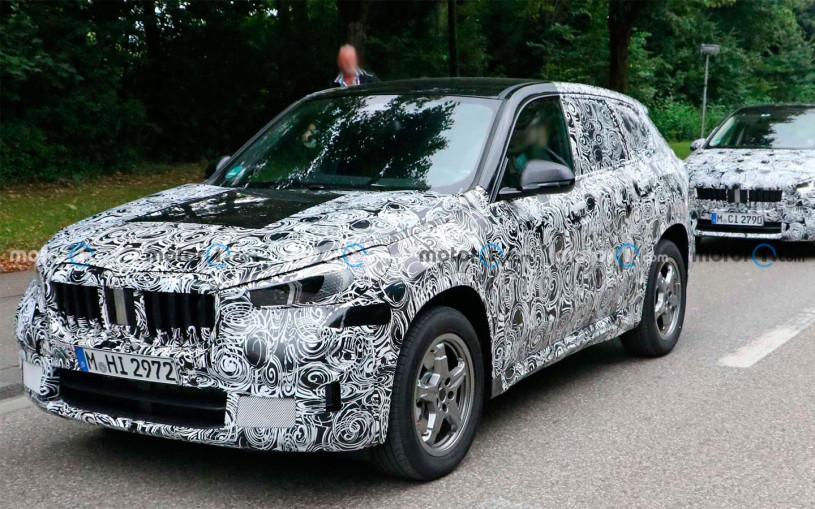 Компактный кроссовер BMW X1 нового поколения заметили на тестах. Фото